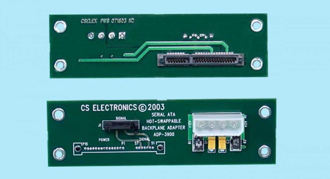 """SATA Single-Drive Mountable Drive Adapter w/ """"Hot-Swapping"""" Circuitry"""