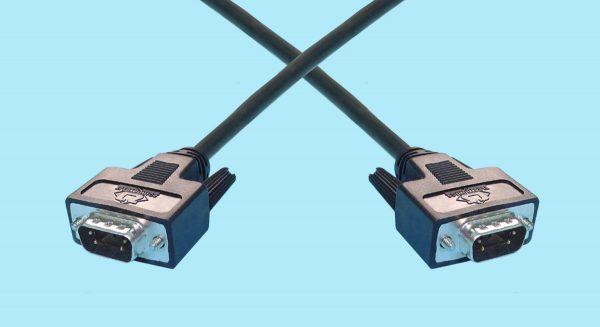 DB9 Male - DB9 Male Fibre Channel Cables