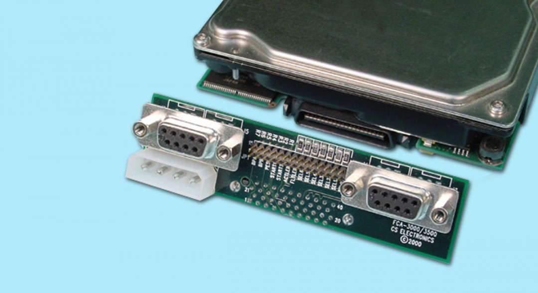 "Single-Drive ""T-Card"" Adapter - DB9 Interface"