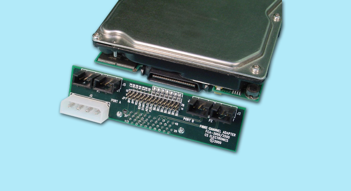 "Single-Drive ""T-Card"" Adapter - PTP Interface"