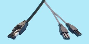 """HSSDC - 3-pin PTP """"Y"""" Cable"""