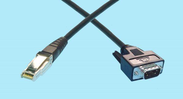 HSSDC2 - DB9 Male Fibre Channel Cables