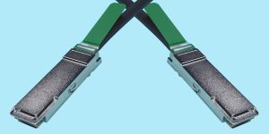 QSFP+ DDR Cable For Infiniband (Dual data rate) applications