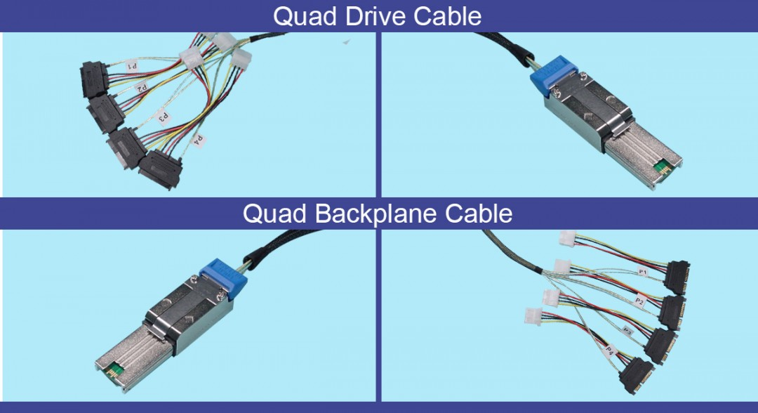 SATA Analyzer test cables