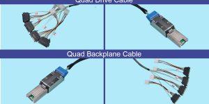 SATA Analyzer test cables