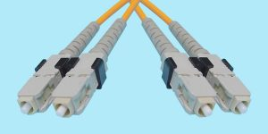 SC-SC Fiber Optic MultiMode Duplex 850nm 50/125u 3mm