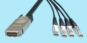 4X to Quad 1X Infiniband Cable