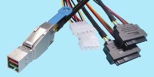 SFF-8644 to (2) SFF-8680