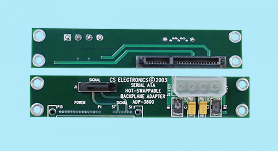 "SATA Single-Drive Mountable Drive Adapter w/ ""Hot-Swapping"" Circuitry"