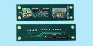 "SAS Drive Adapter - 1.25"" x 4.25"" - Dual Ported - ""Hot-Swap"""