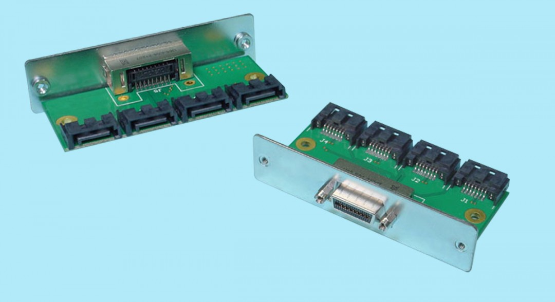4X SFF-8470 to (4) 7-pin SATA