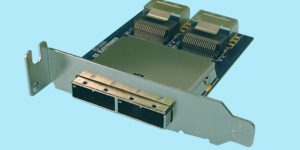 SATA 7-Pin iSAS-887P-UR//2 4 External Mini-SAS 26-CKT SFF-8088 to Internal