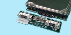 "Single-Drive ""T-Card"" Adapter - DB9 Interface"