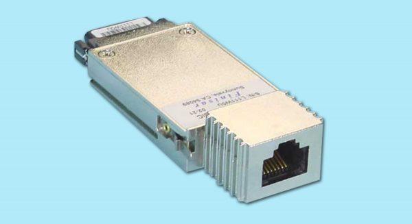 1000BASE-T RJ-45 GBIC Transceiver