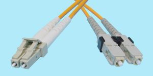 LC-SC Fiber Optic MultiMode Duplex 850nm 50/125u 3mm