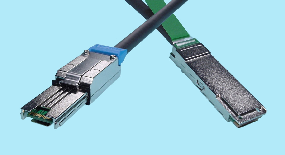 MiniSAS SFF-8088 to QSFP+ Cable For SAS use