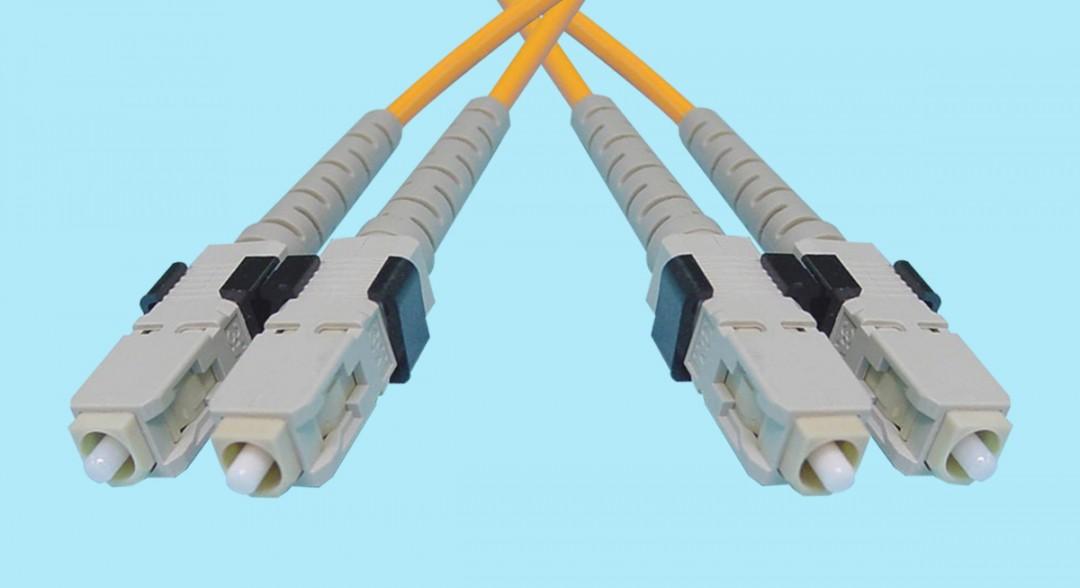SC-SC Fiber Optic MultiMode Duplex 850nm 50/125u 3mm