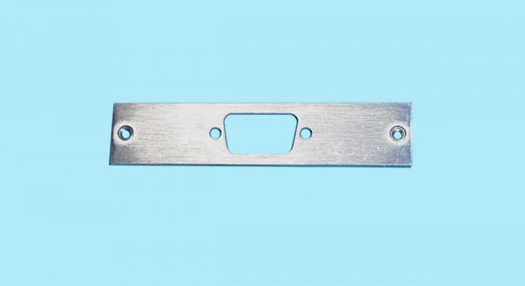 Plate - DB9 Single Centronics 50 Slot