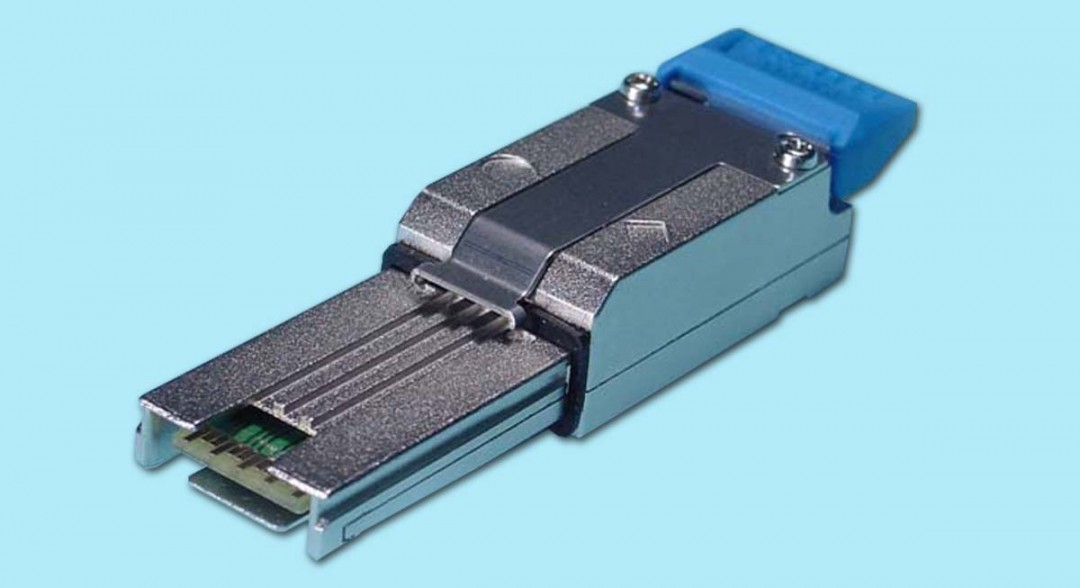 Loopback Adapter for Mini-SAS 26-ckt SFF-8088