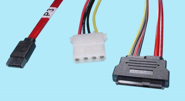 SATA 7-Pin to SFF-8482