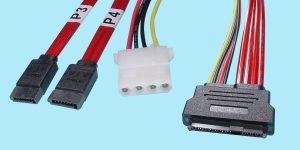 (2) SATA 7-Pin to SFF-8482
