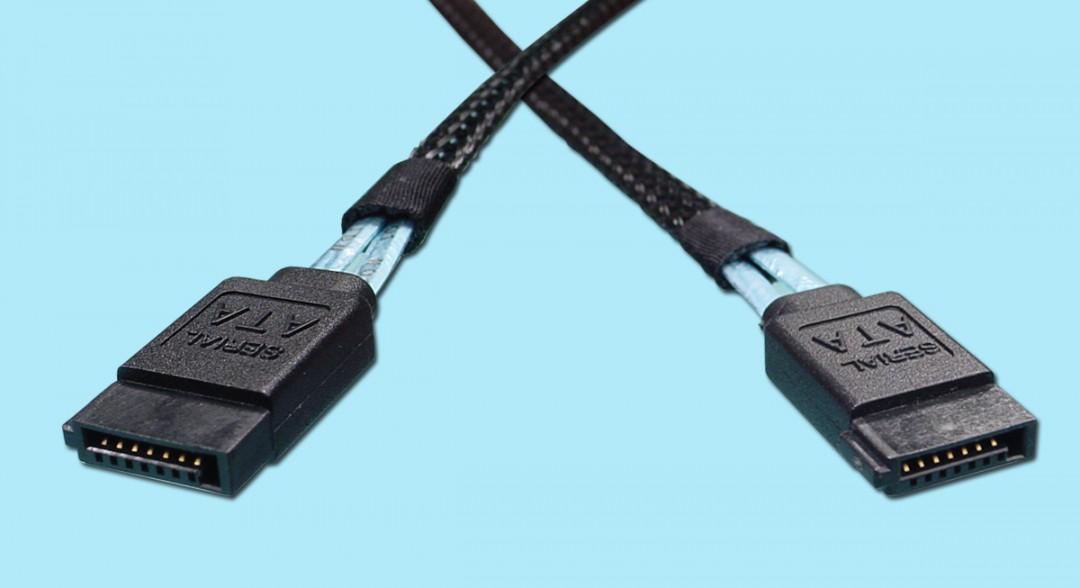 6Gb/s - Rated SATA Cable. 7-pin SATA 6G rated.
